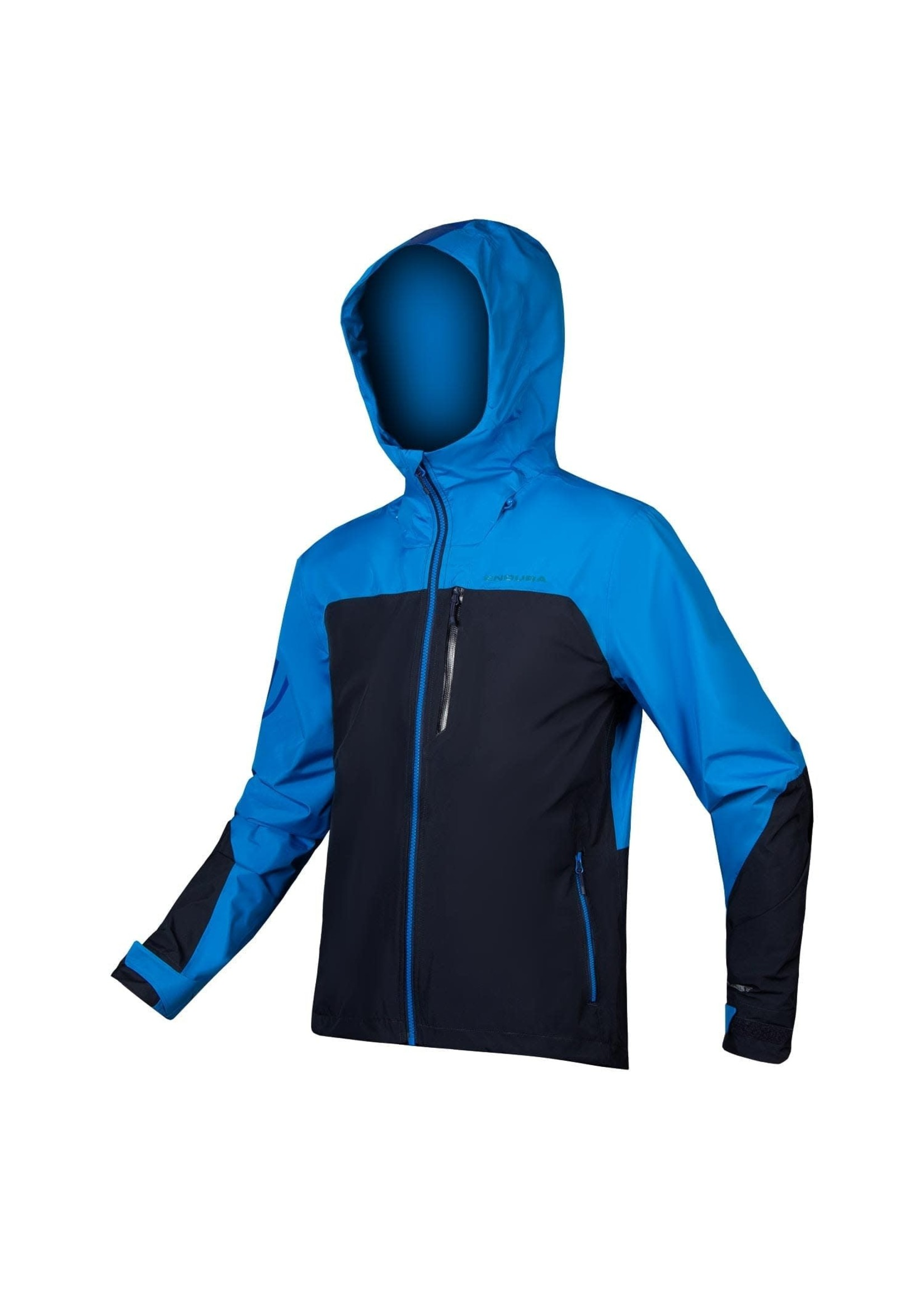 Endura SingleTrack Waterproof Jkt,  Blue: M