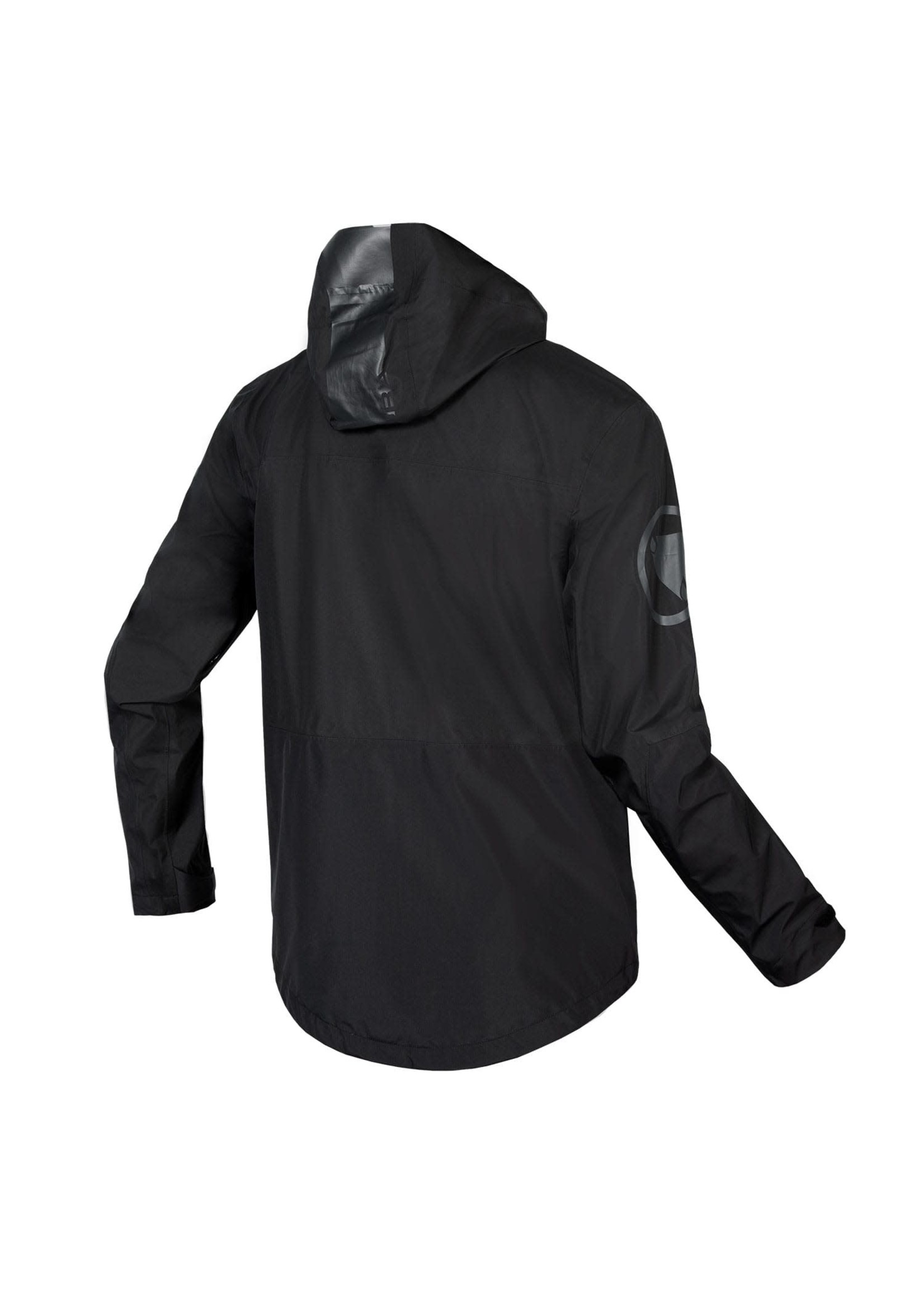 Endura SingleTrack Waterproof Jacket, Black, Large