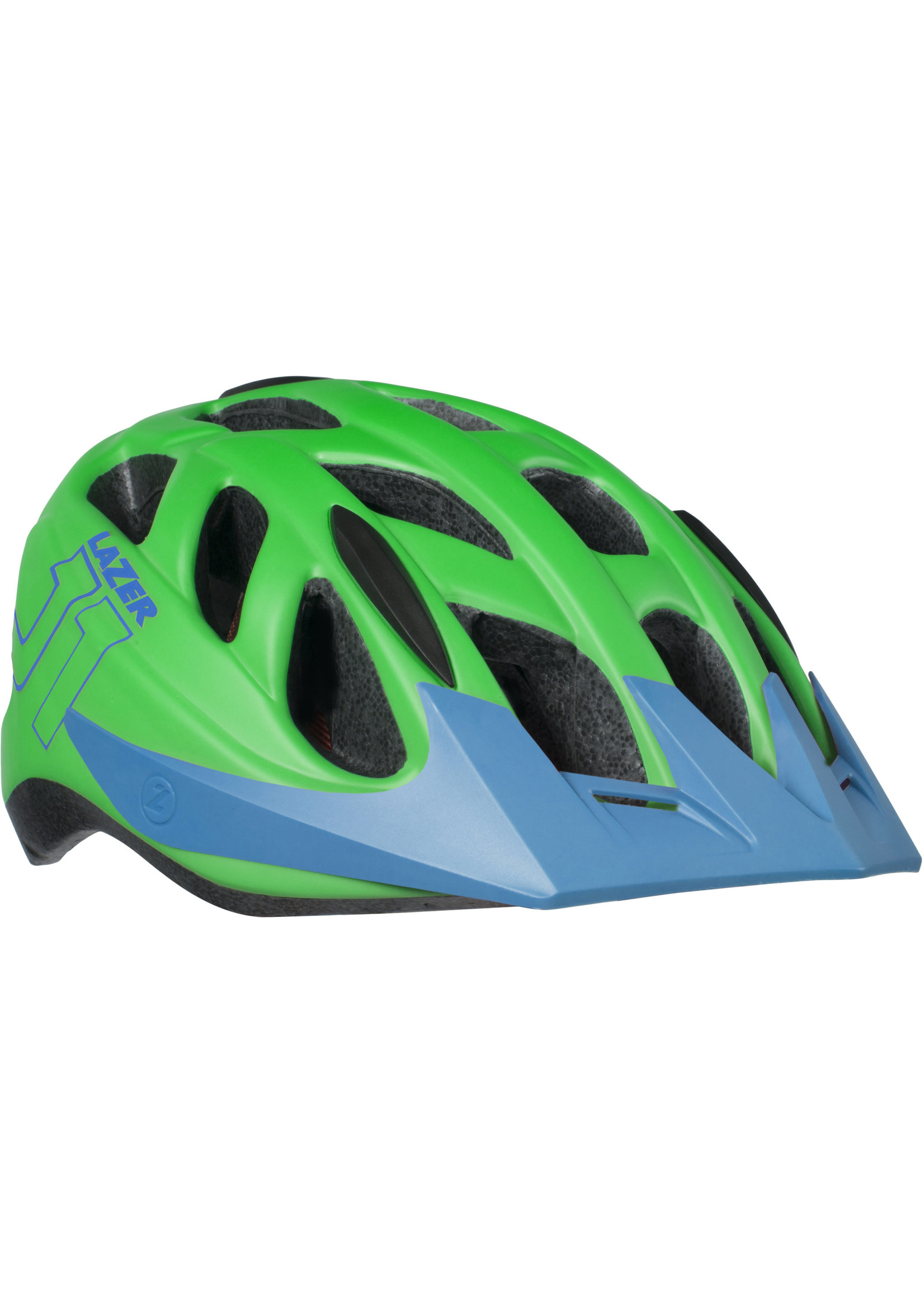 Lazer J1 Helmet, Green/Blue, Uni-Youth