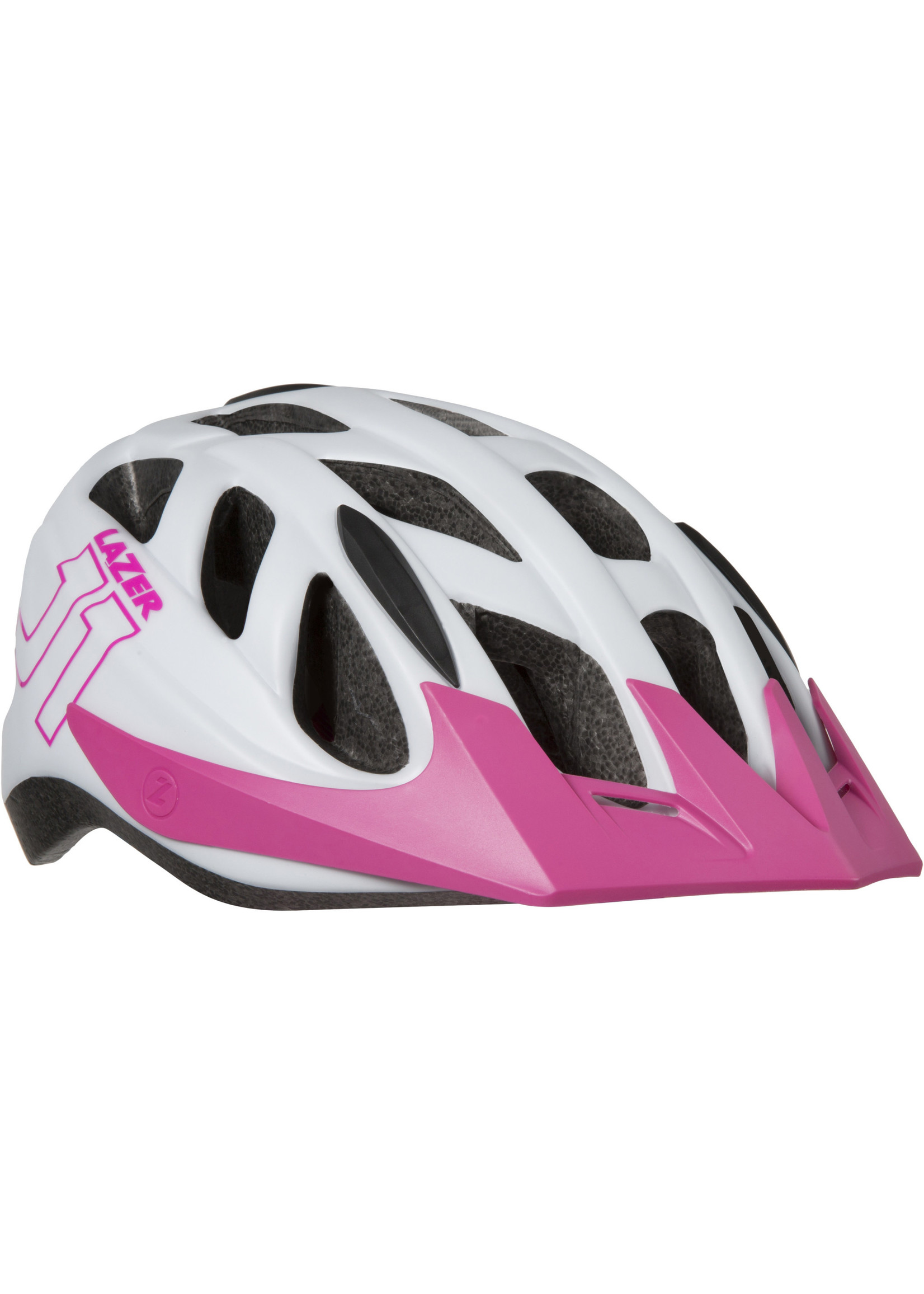 Lazer J1 Helmet, White/Pink, Uni-Youth