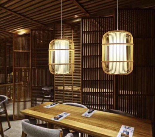Bambus Pendelleuchten & Japanische Hängelampen: Natürliche Stimmungsmacher
