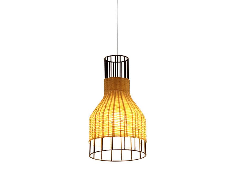 Lampe Industrielle Bambus - Xiron D20xH35cm