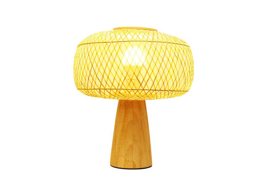 Fine Asianliving Tischlampe Bambus - Hazel D28xH33cm