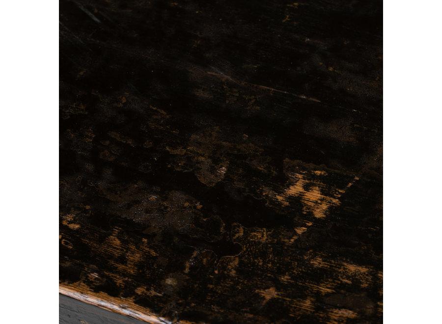 Fine Asianliving Antiker Chinesischer Schrank Handbemalte Blumen B87xT39xH69cm