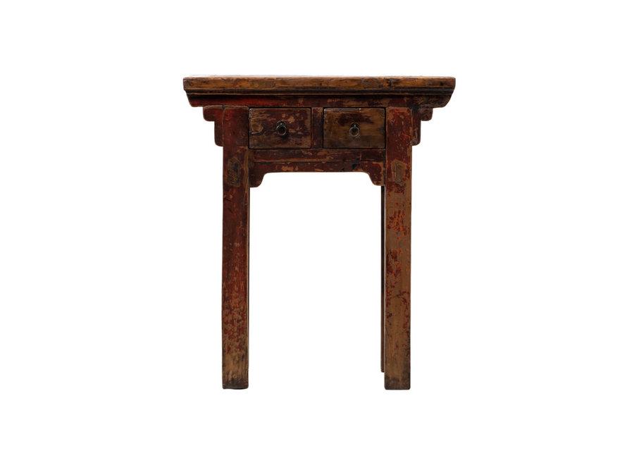 Antiker Chinesischer Pflanzentisch Blümentisch B73xT41xH84cm