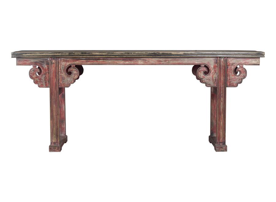 Fine Asianliving Antiker Chinesischer Altartisch Konsolentisch