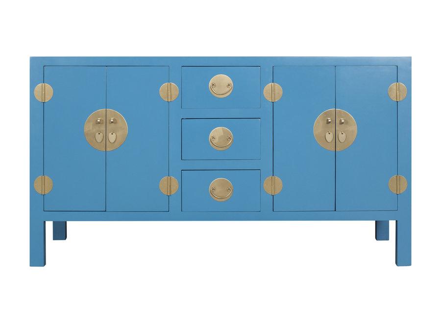 Chinesisches Sideboard Kommode Himmelblau - Orientique Sammlung B160xT50xH90cm