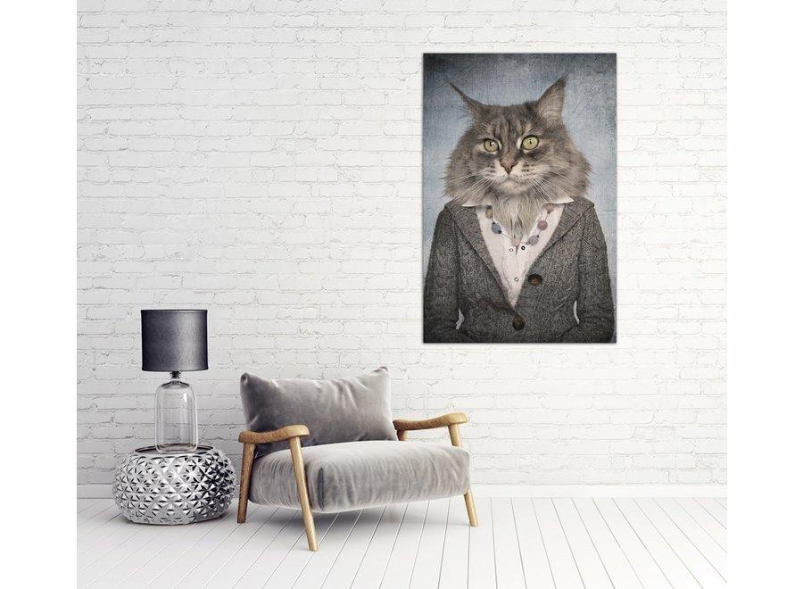 Fine Asianliving Catwoman Digitalprint 80x120cm Acrylic Glass