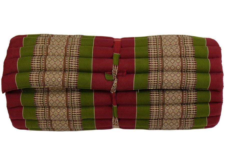 Fine Asianliving Thaimatte Rollbar Kapokfüllung 190x78x4.5cm