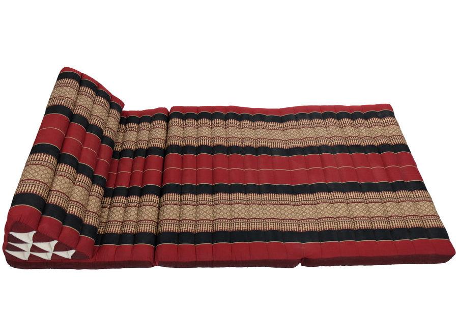 Fine Asianliving Thai Cushion Three-fold 80x190cm Triangle Cushion XXXL 8 Roll Seat