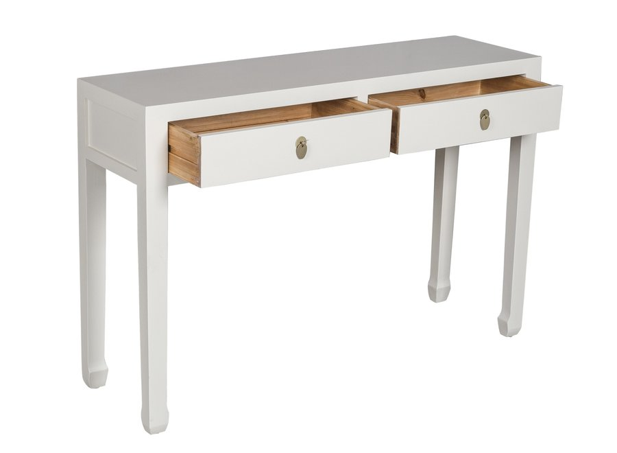 Fine Asianliving Chinese Sidetable Moonshine Greige - Orientique Collection L120xW35xH80cm