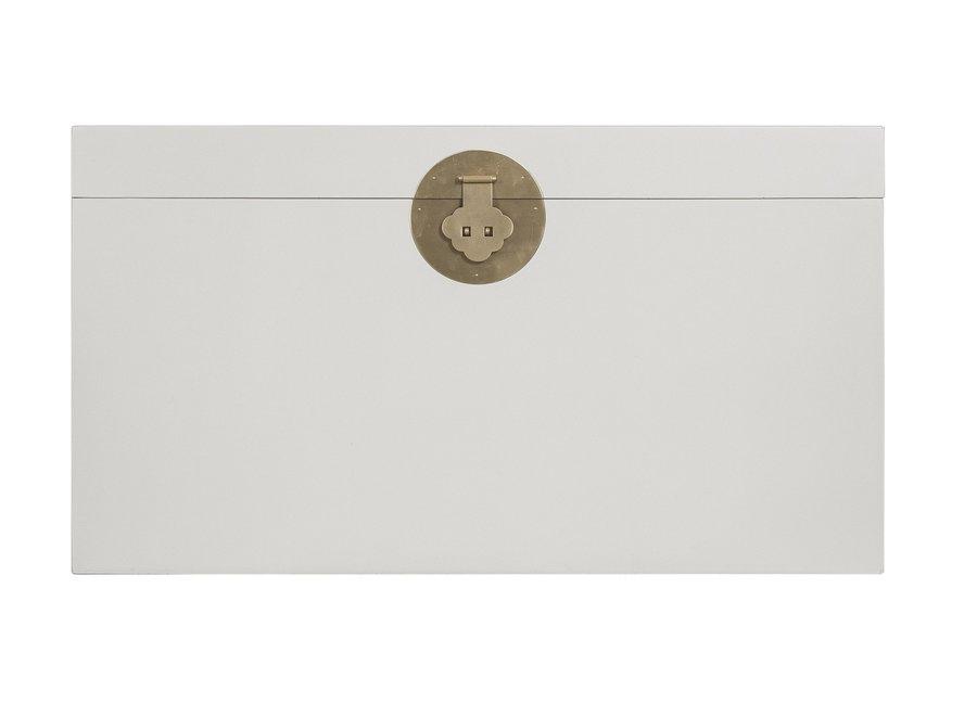 Chinesische Truhe Greige - Orientique Sammlung B90xT45xH50cm
