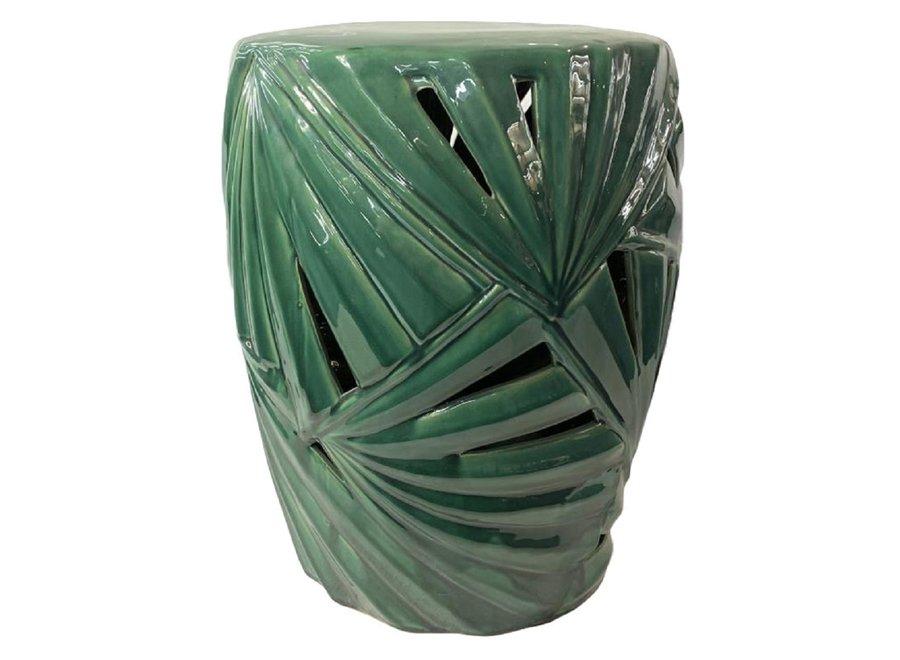 Keramikhocker Gartenhocker Chinesisch Porzellan D33xH46cm