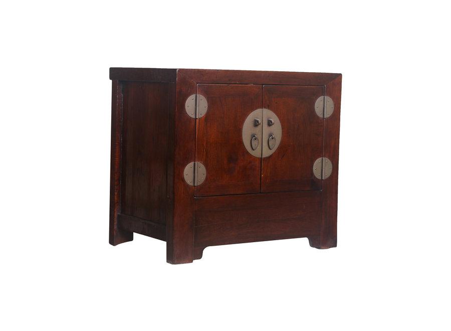 Fine Asianliving Antiker Chinesischer Schrank Klein Braun - Peking, China