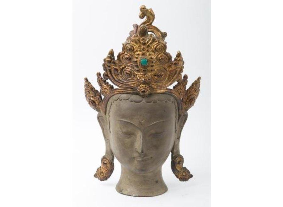 Fine Asianliving Antique Thai Antique Statue