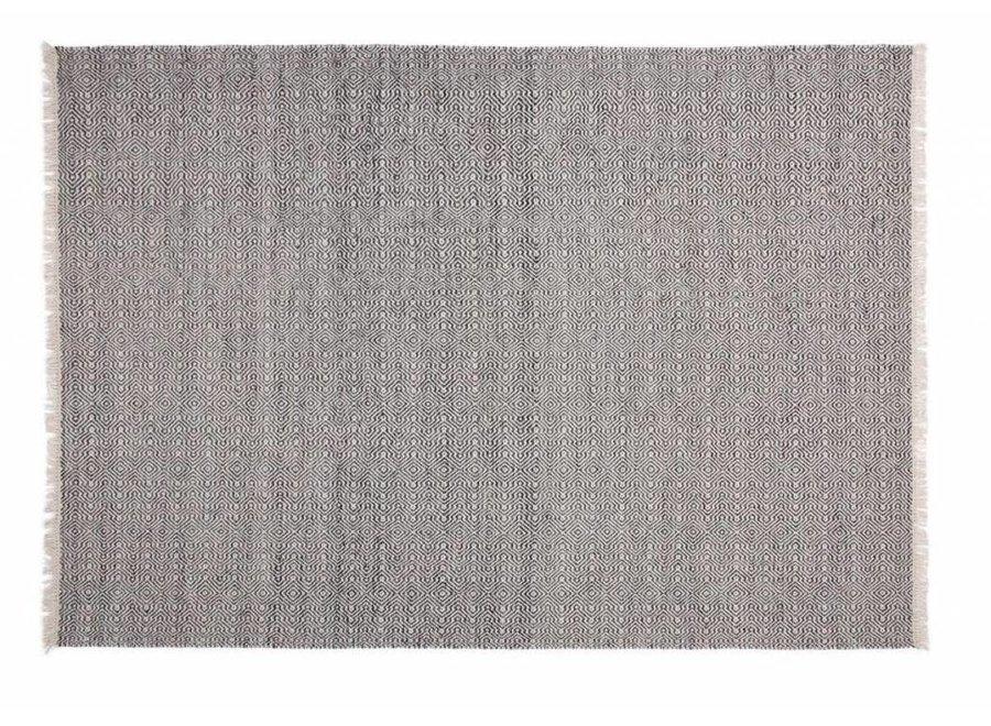 Teppich Balliste Schwarz 160x230cm
