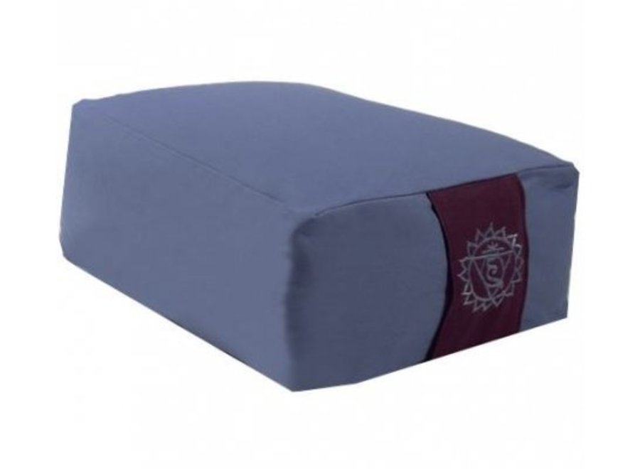 Fine Asianliving Meditationskissen Blau
