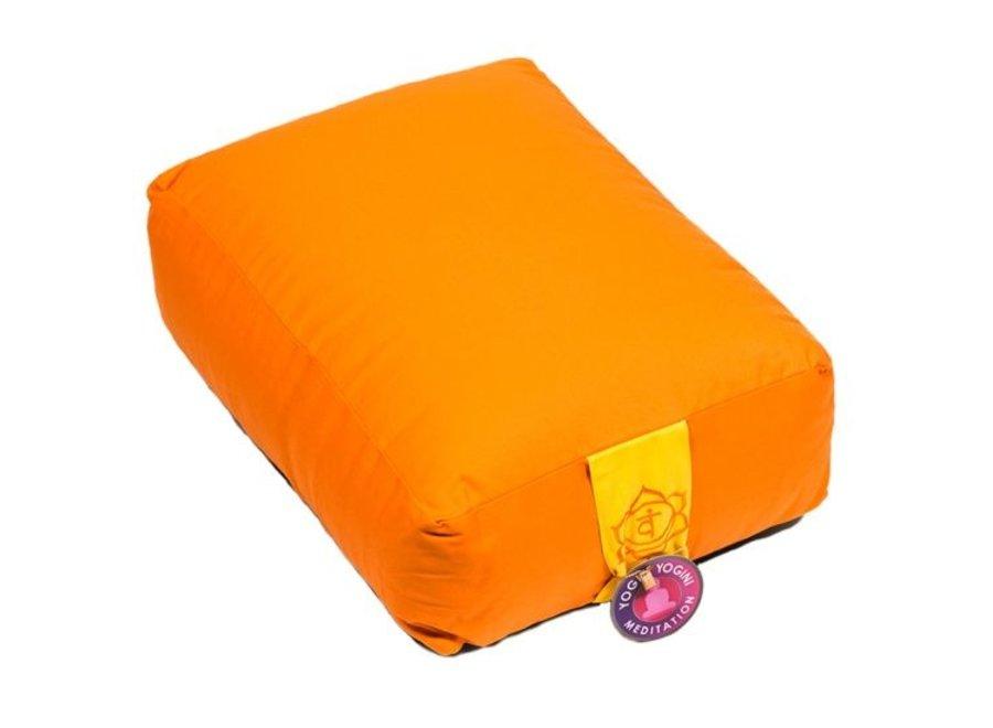 Meditationskissen Orange