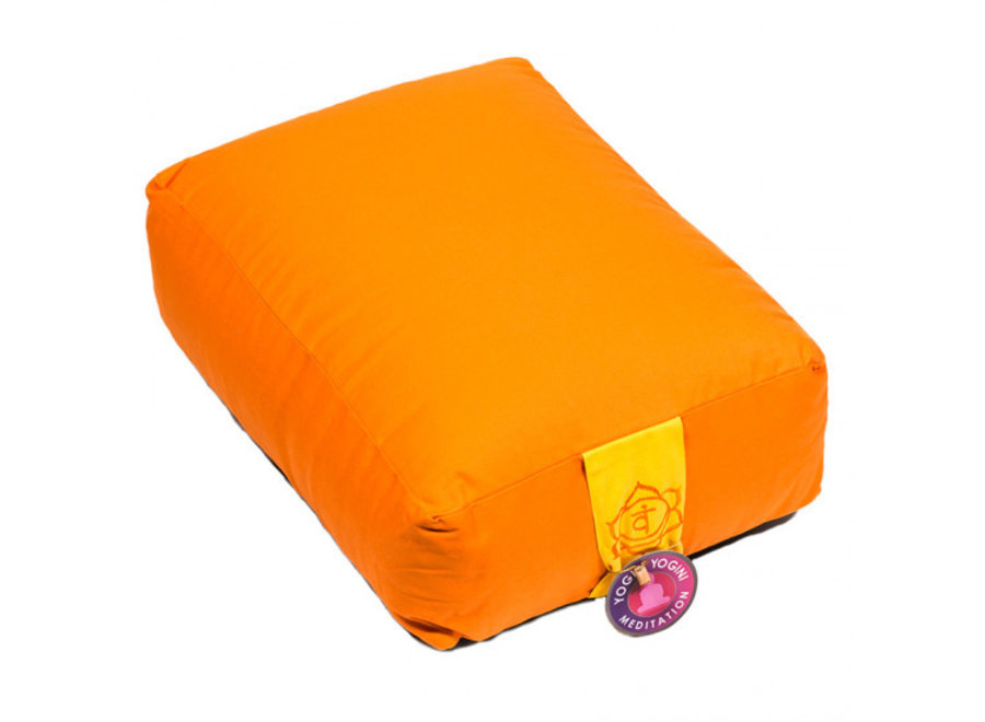 Fine Asianliving Meditationskissen Orange
