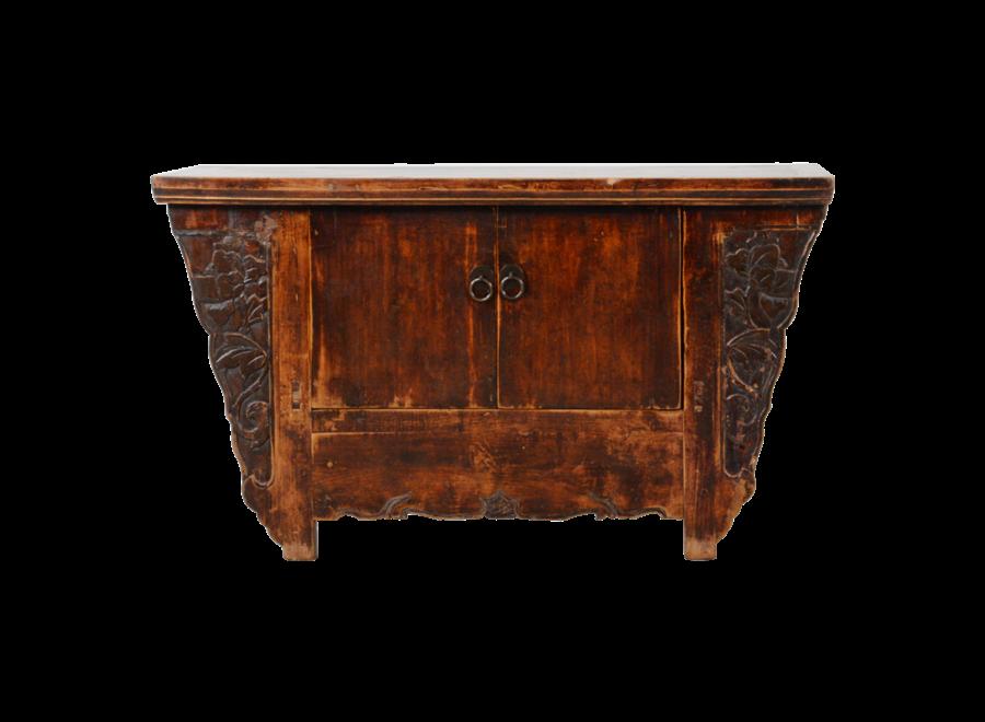 Antiker Chinesischer Schrank Handgeschnitzt B97xT39xH63cm