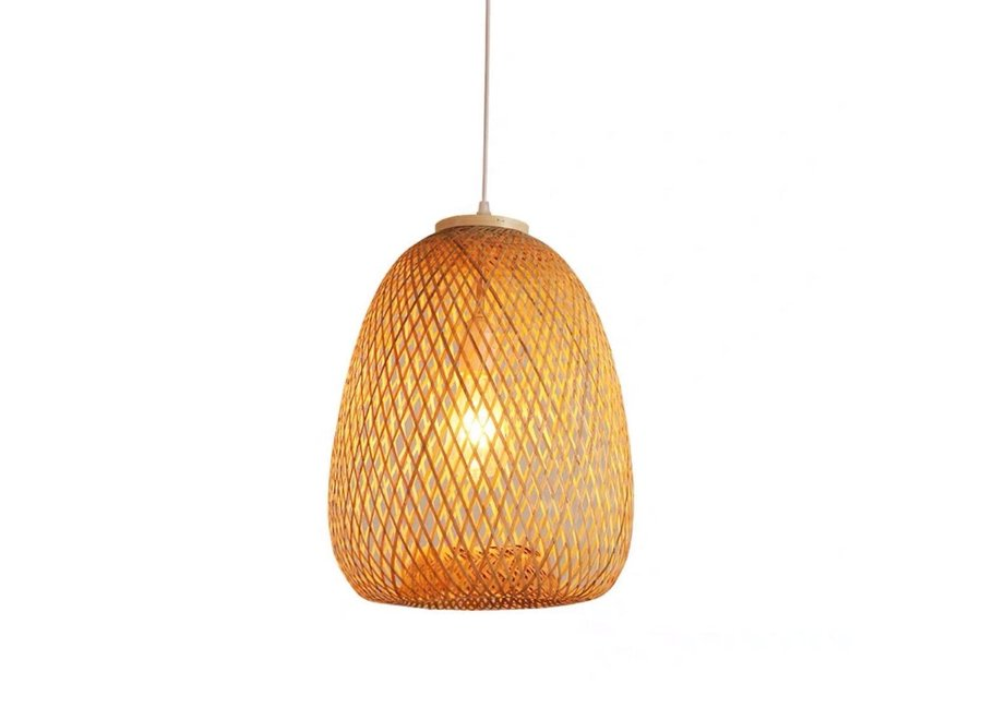 Fine Asianliving Bamboo Pendant Light Tania D30xH40cm