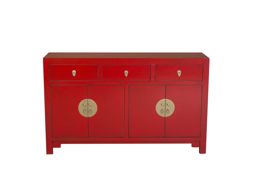 Chinese Sideboard Lucky Red W140xD35xH85cm - Orientique Collection