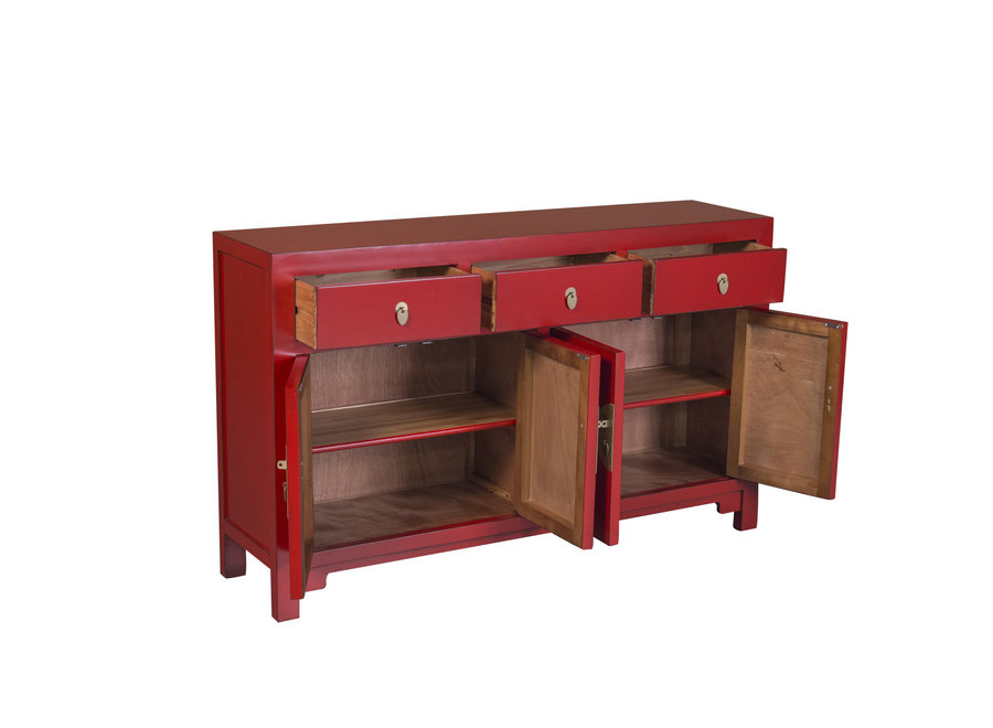 Fine Asianliving Chinese Sideboard Lucky Red W140xD35xH85cm - Orientique Collection