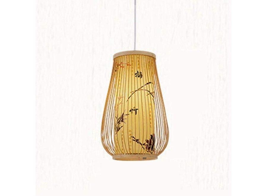 Bamboo Pendant Light Jasmine D20xH40cm