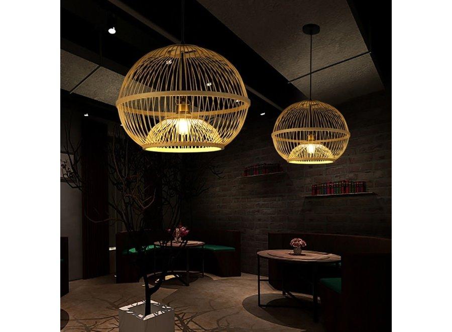 Pendelleuchte Hängelampe Bambus Handgefertigt - Sisley
