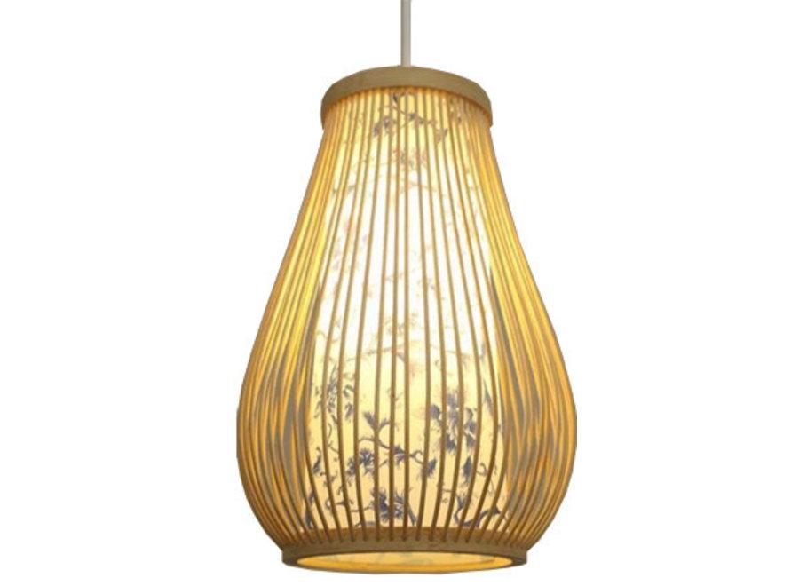 Deckenleuchte Pendelleuchte Beleuchtung Bambus Lampenschirm Handgefertigt - Chloe