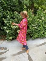 Love kimono in het roze