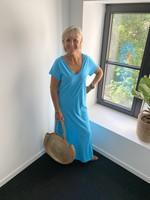 Love Lange jurk in het turkois