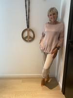 Love smalle beige broek