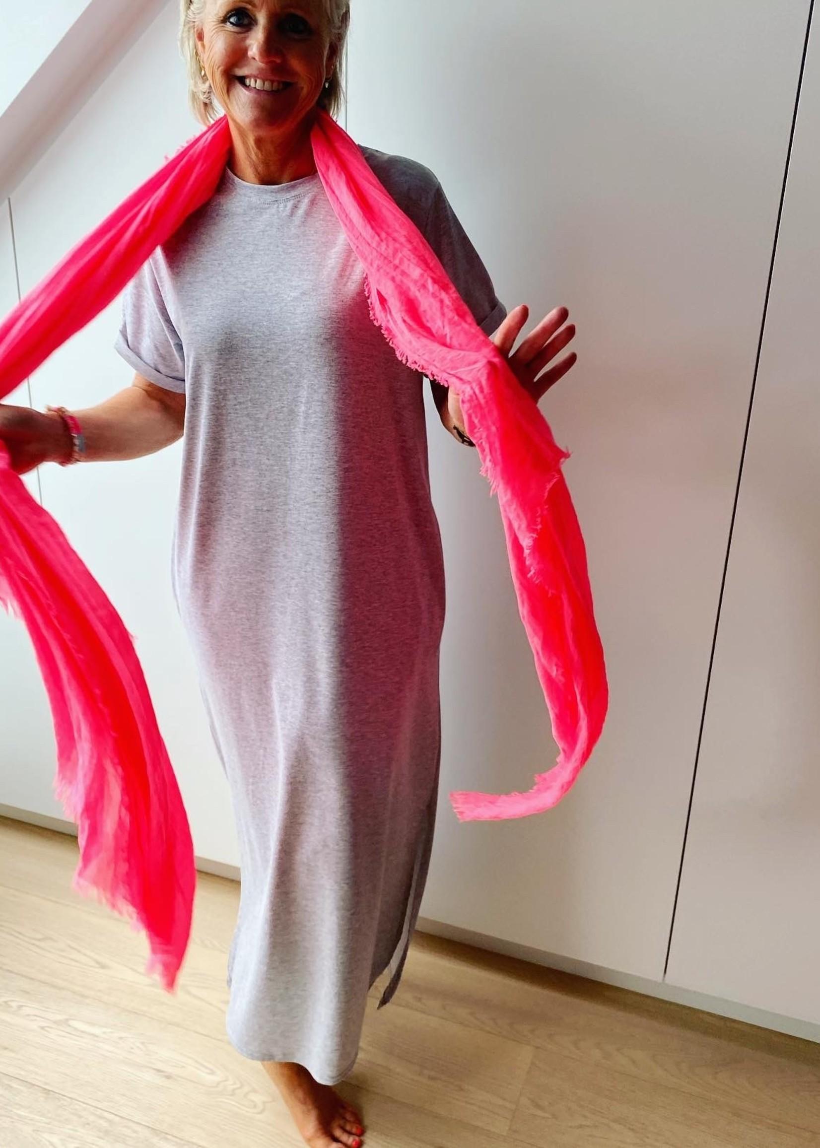 Love Fel gekleurde sjaal