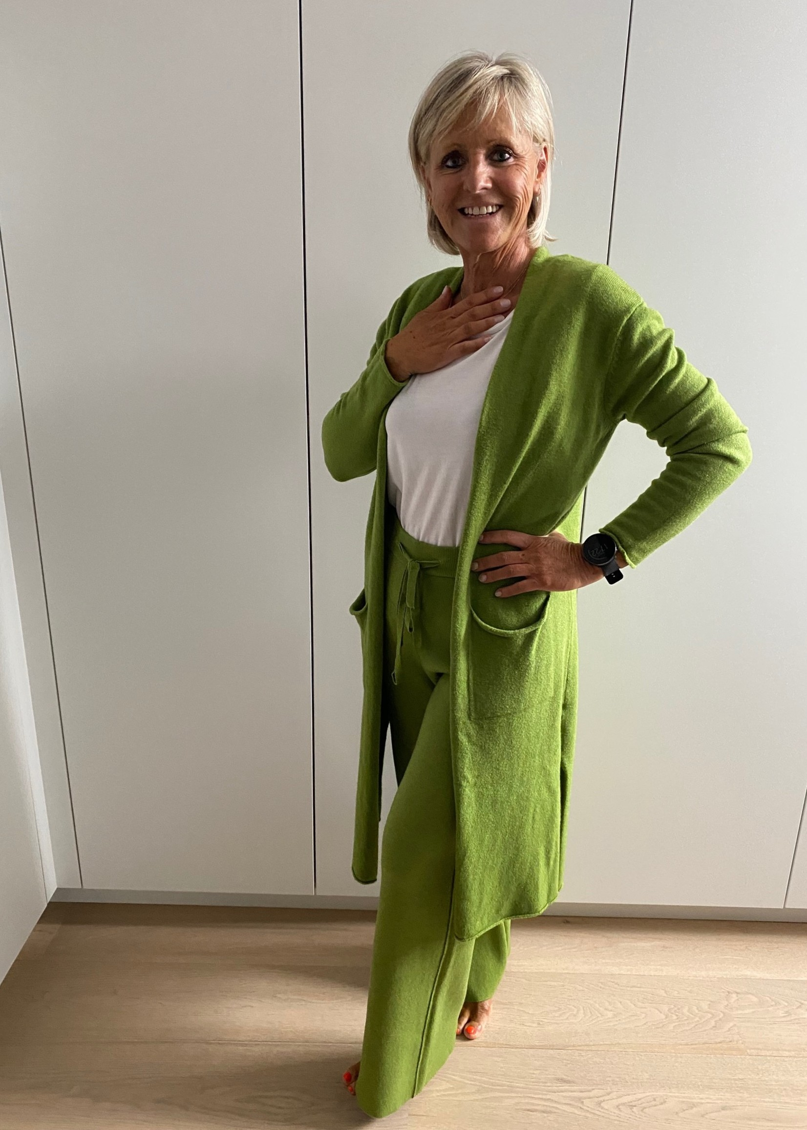 groene broek