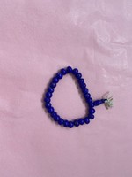 donkerblauwe armband
