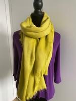 gifgroene sjaal