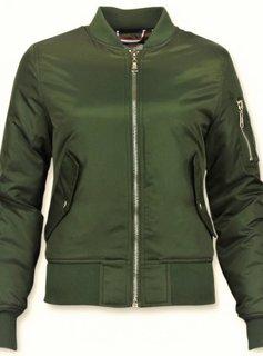 Matogla Bomberjack Dames - BomberJas - Bomber Jacket - Groen