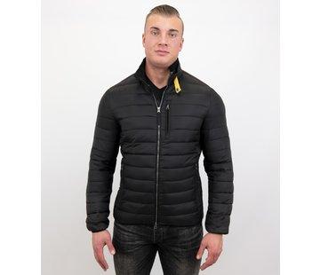 Enos Here Korte Jas Slim Fit - Zwart