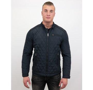 Enos Slim Fit Jack - Heren jas kort model - Blauw