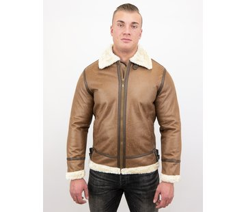 Tony Backer Shearling jacket - Lammy Coat - Bruin