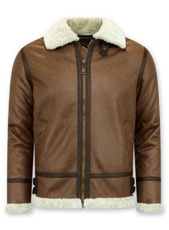 Tony Backer Shearling jacket - Lammy Coat - Bruin
