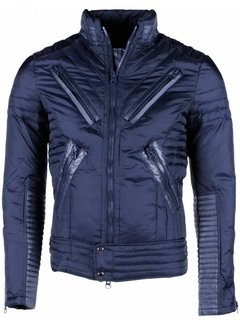 Next Style Heren Winterjas Kort - Duck Down - Motor Jack