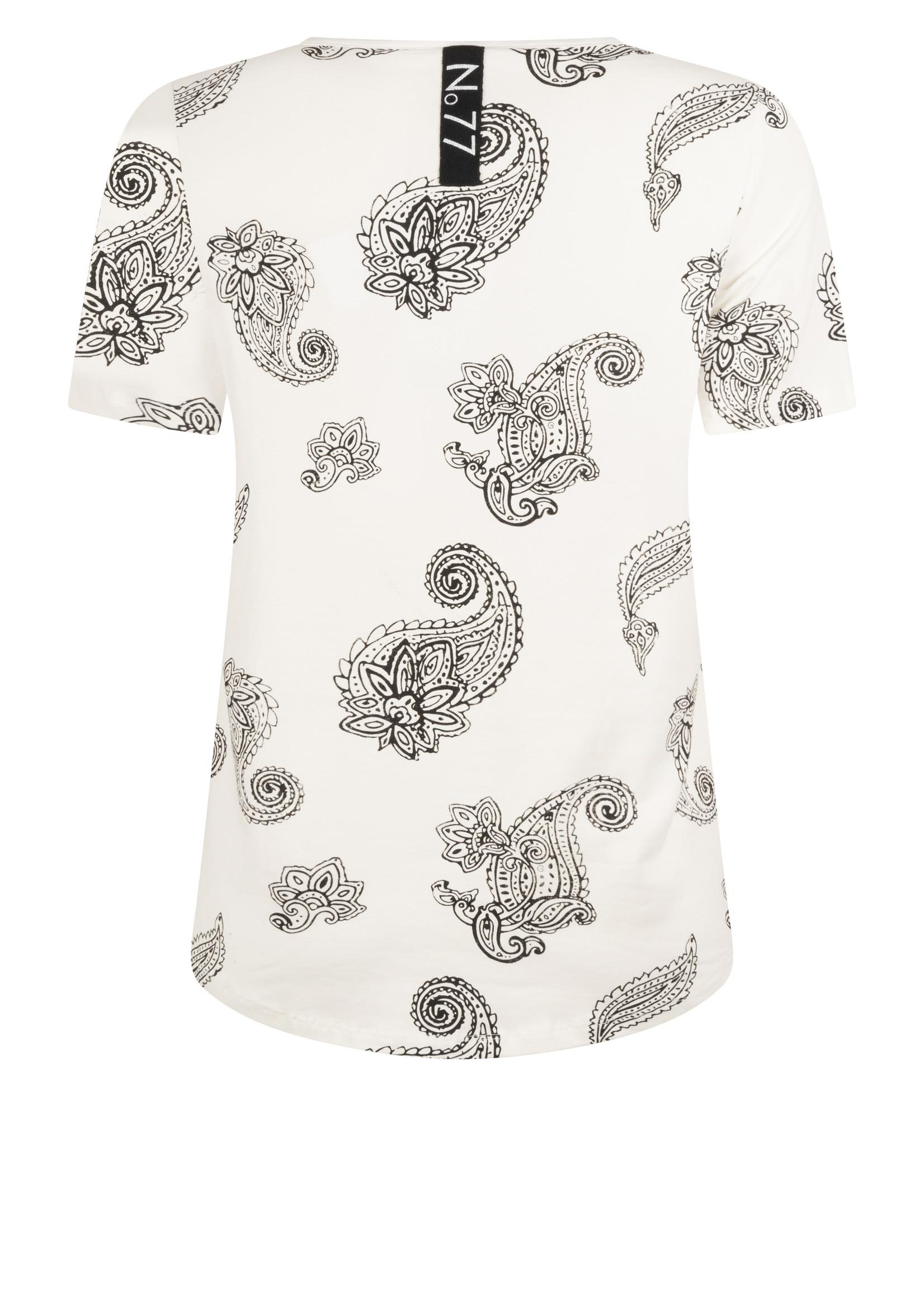 Zoso Zoso - Karen - t-shirt - paisley print