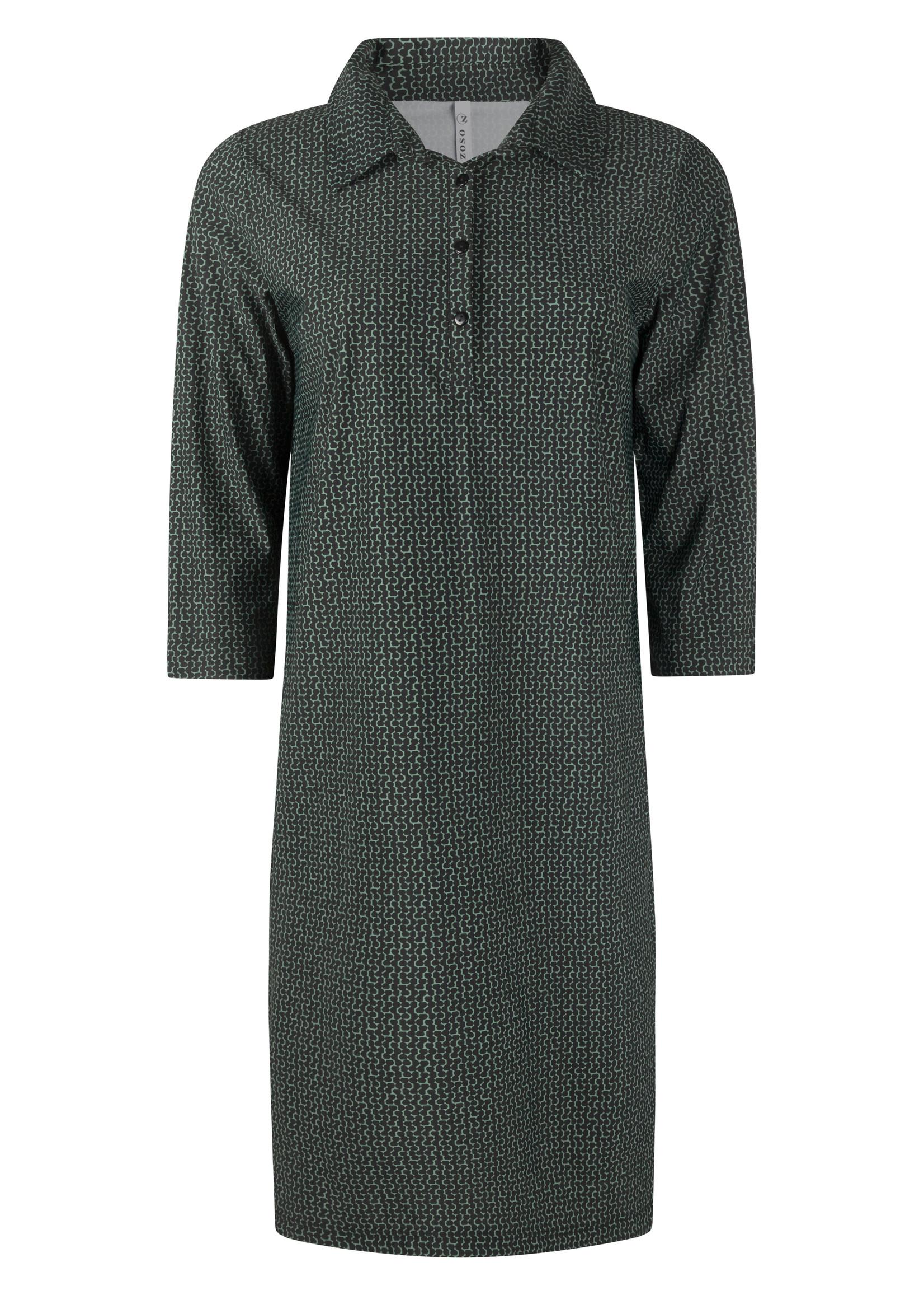 Zoso Zoso - Veronique - travel jurk - allover printed