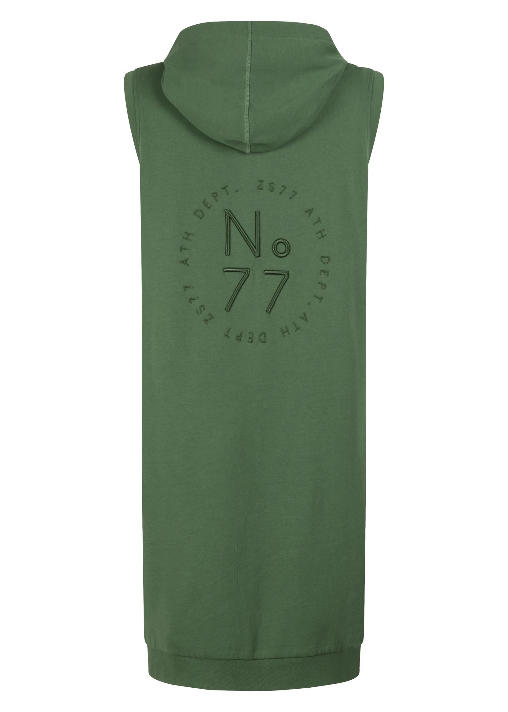 Zoso Zoso - Donna - Vest met borduursel groen