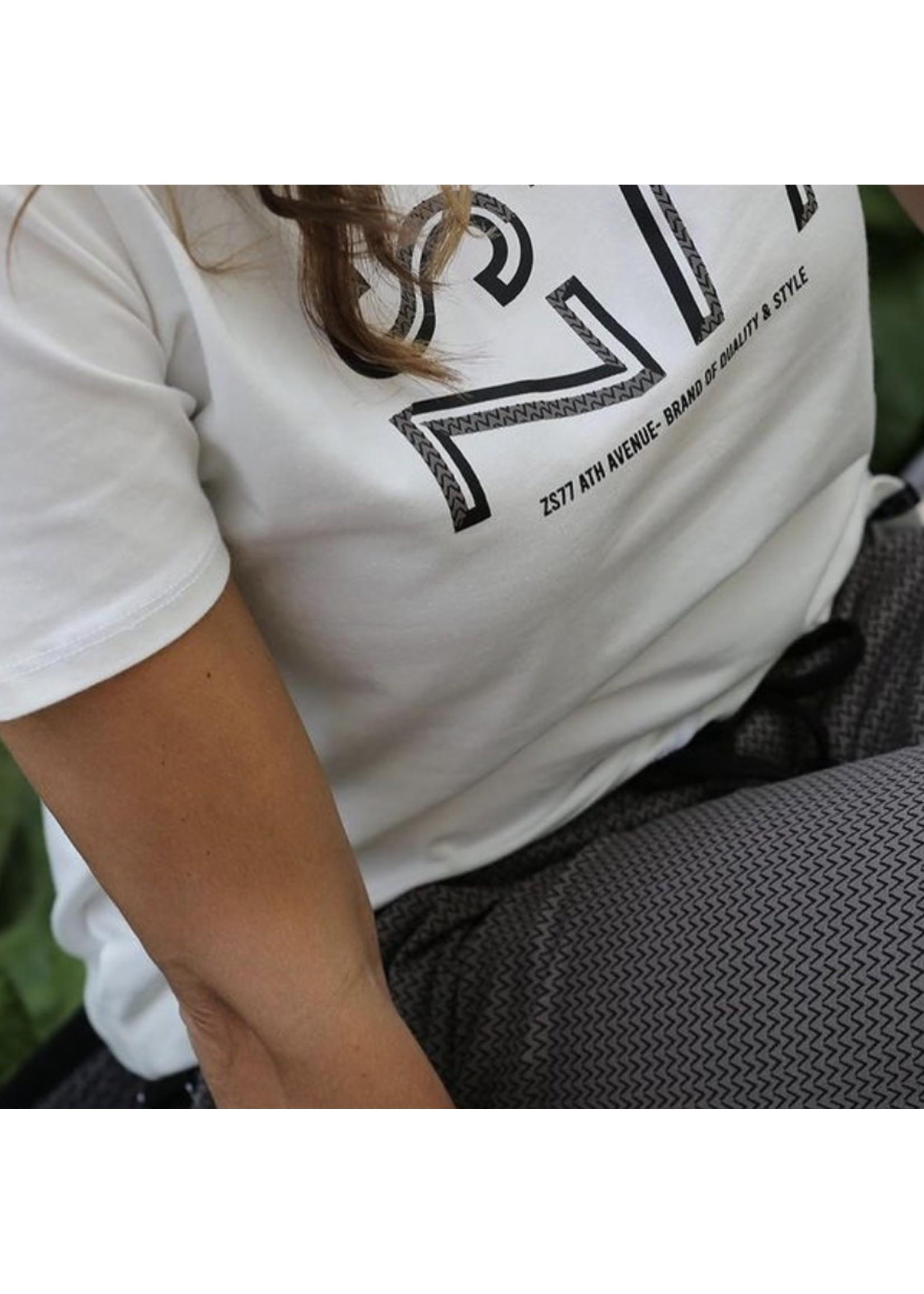 Zoso Zoso - Denise - trouser - Taupe/black