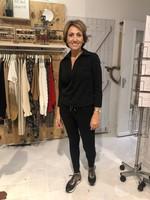 My Pashion My Pashion - Blodine - blouse easy move kwaliteit - Zwart