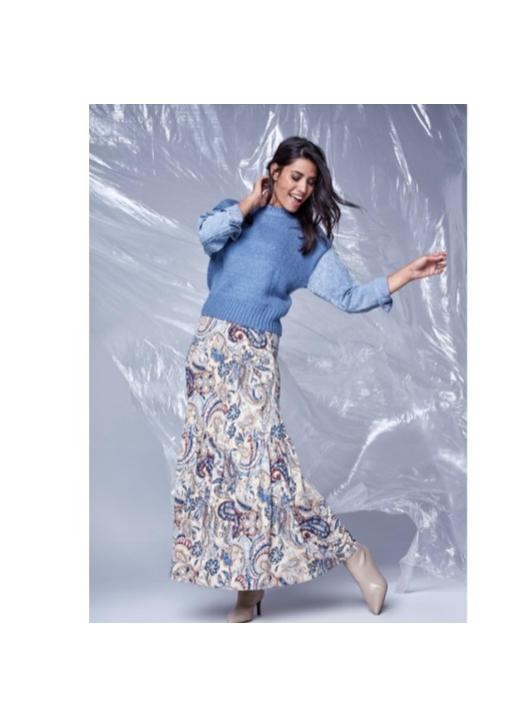K-design T507 - K-design - trui ronde hals met jeans