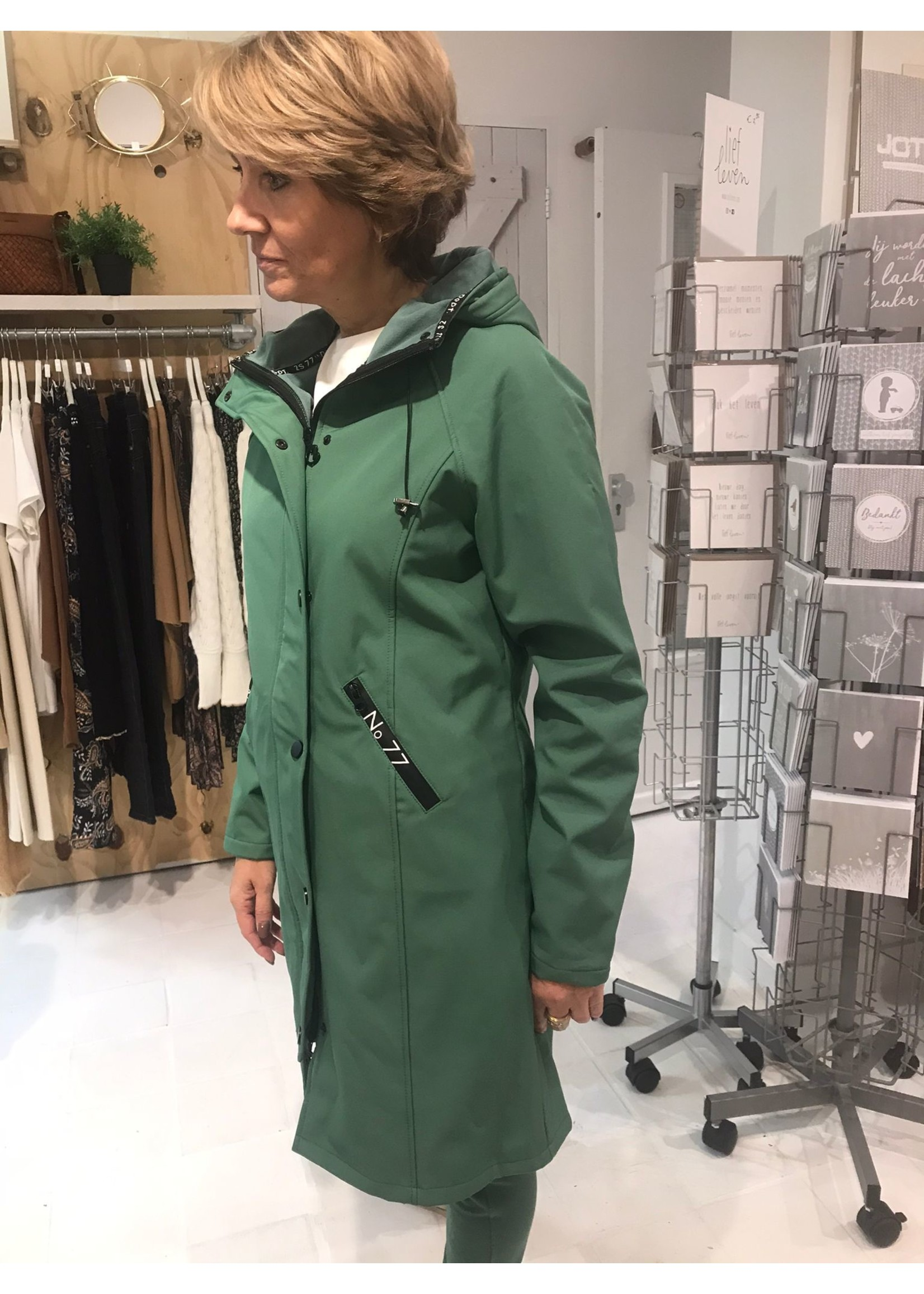 Zoso Zoso - Outdoor - Softshell outdoor coat - groen